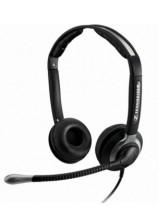 CC 550 IP - Over the head, binaural, wideband headset w. extra large ear caps,- with ED